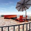 Terrace sunshade