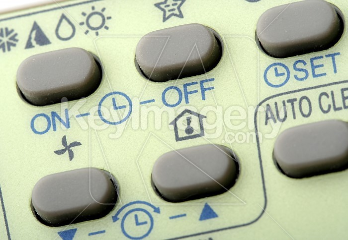 Remote buttons. Photo #33390