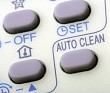 Remote buttons.