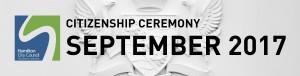 HCC Citizenship Ceremony (Sep 2017)