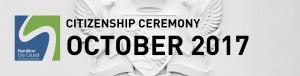 HCC Citizenship Ceremony (Oct 2017)