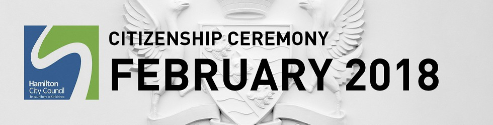 HCC NZ Citizenship Ceremony (Feb 2018)