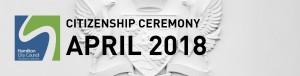 HCC NZ Citizenship Ceremony (Apr 2018)