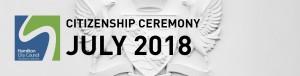 HCC NZ Citizenship Ceremony (Jul 2018)