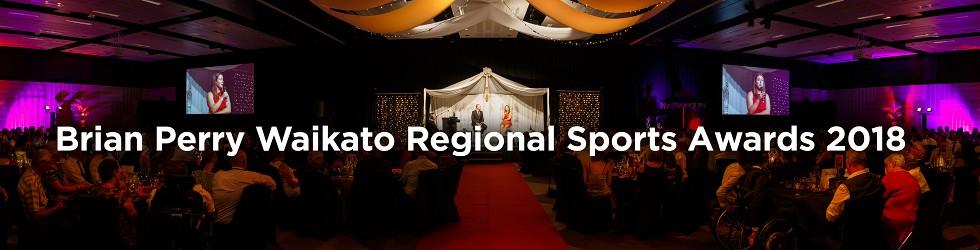 Brian Perry Waikato Regional Sports Awards 2018