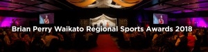 Brian Perry Waikato Regional Sports Awards 2018