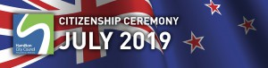 HCC NZ Citizenship Ceremony (July 2019)