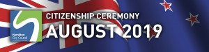 HCC NZ Citizenship Ceremony (August 2019)