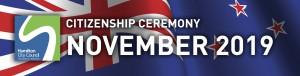 HCC NZ Citizenship Ceremony (November 2019)