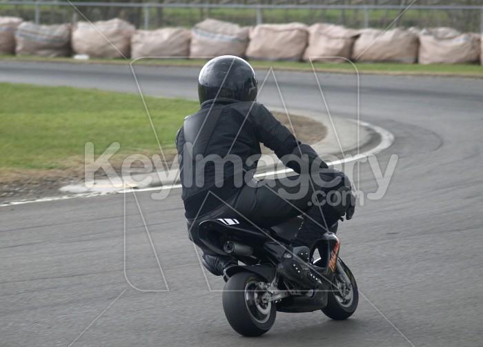 Black Pocket Bike Rider Photo #4085