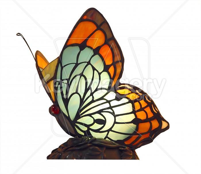Butterfly Lamp Photo #7814
