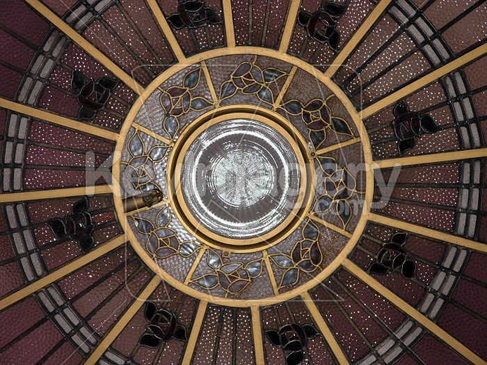 Glass Ceiling Dome Photo #4374