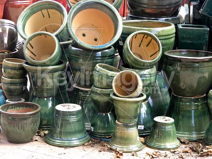 Green Pots Photo #4462