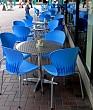 Deserted Alfresco Caf