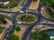 Roundabout with Cars