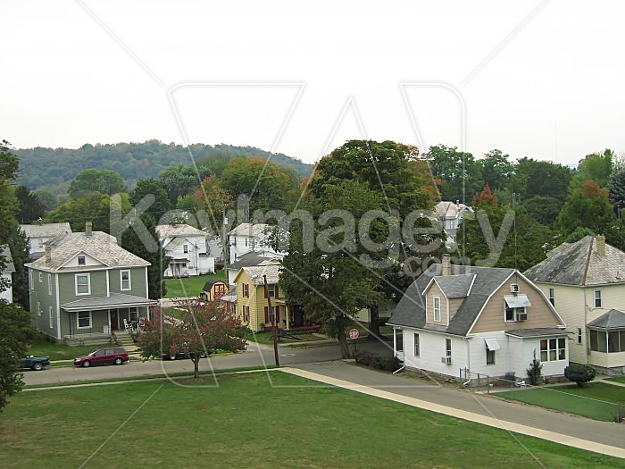 Houses In Town Photo #45184