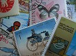 Postage Stamps Macro