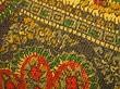 Paisley Fabric Macro