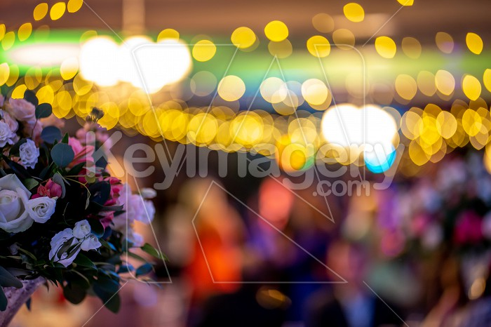 Bridal flowers bouquet on colorful light background Photo #61753