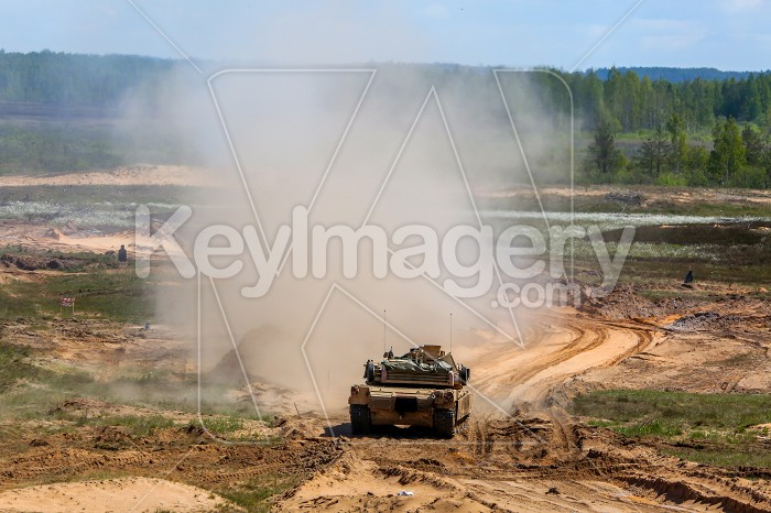 Saber Strike military training in the landfill in Latvia. Photo #60817