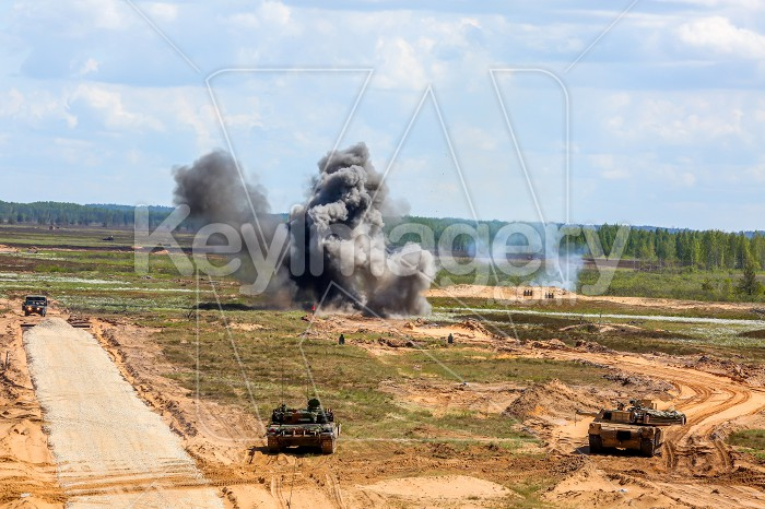 Saber Strike military training in the landfill in Latvia. Photo #60818