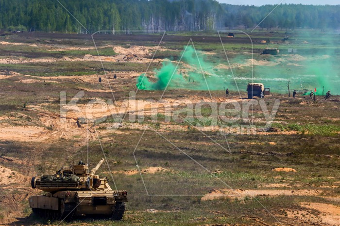 Saber Strike military training in the landfill in Latvia. Photo #60820