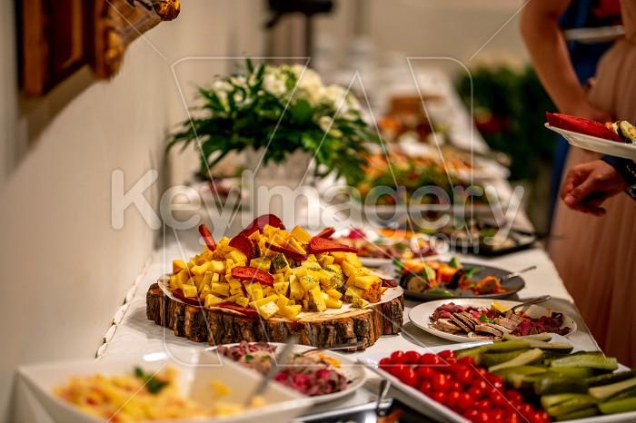 Snacks on the wedding table Photo #61782