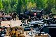 Military training Saber Strike in Latvia.