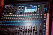 Part of sound amplifier, music mixer