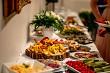 Snacks on the wedding table