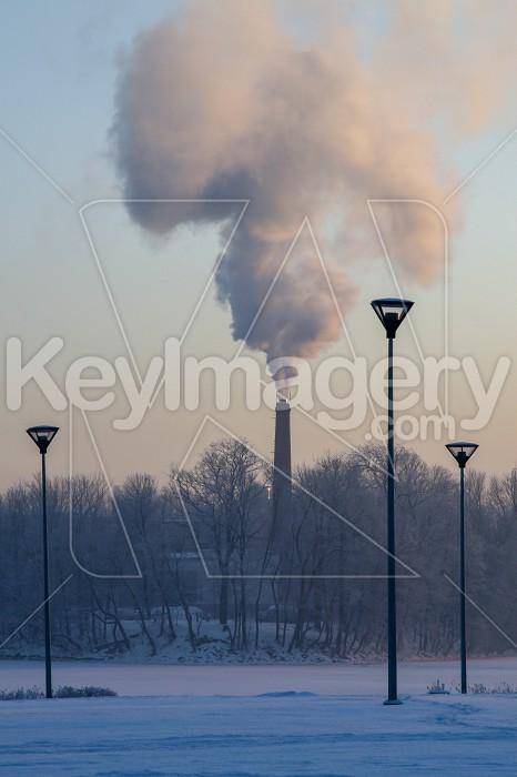 View of Riga in winter season. Photo #60481