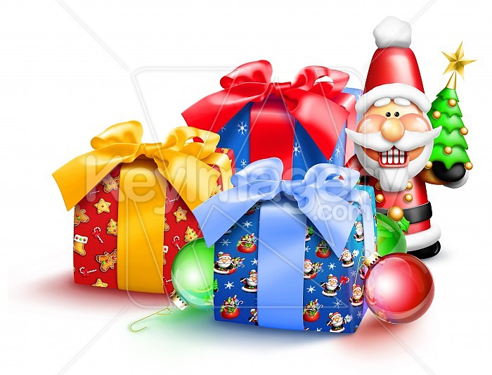 Whimsical Christmas Gifts and Nutcracker Photo #47912
