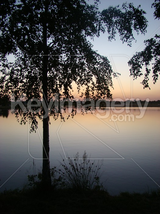 lake at dusk Photo #4039