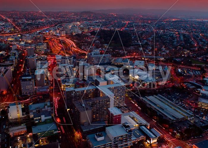 Auckland at night Photo #4253