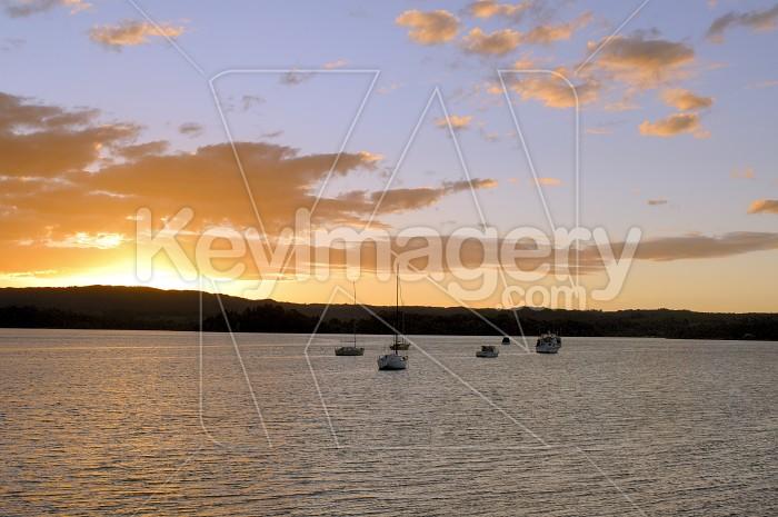 Harbour Sunset Photo #4482