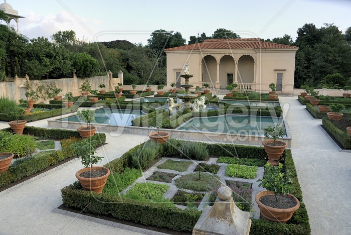 Italian Garden Photo #6244