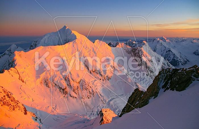 Mt Tasman sunrise Photo #4574