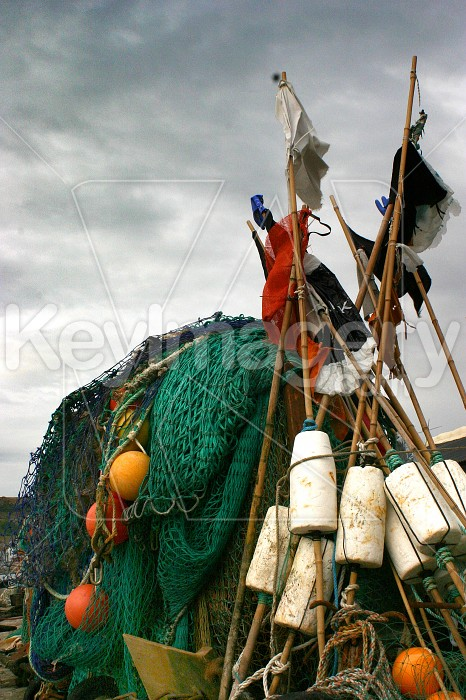 fishing, nets and floats Photo #4849
