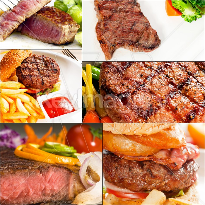 beef dishes collage Photo #57363