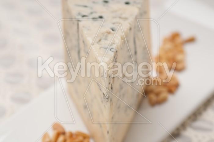 gorgonzola cheese fresh cut and pinenuts Photo #49211