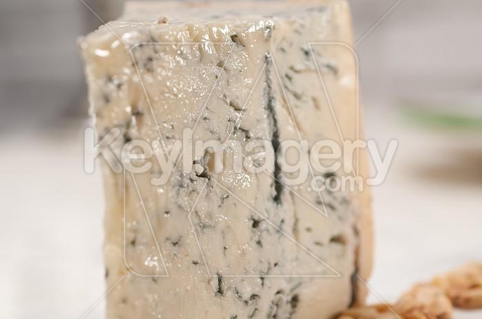 gorgonzola cheese fresh cut and pinenuts Photo #49663