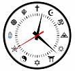 religions clock