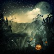 Scary Movie. Abstract halloween backgrounds for your design