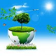 Save the Earth. Abstract Eco backgrounds for your design