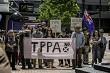 TPPA Protest November 2014