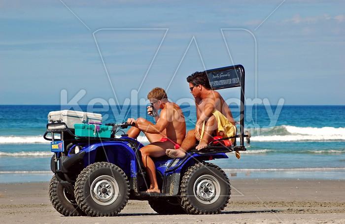 Lifeguards on duty Photo #7094