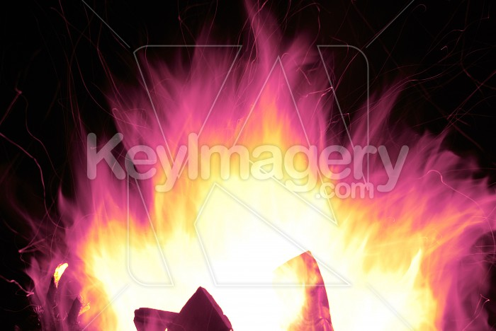 Magic Fire Explosion Photo #6599