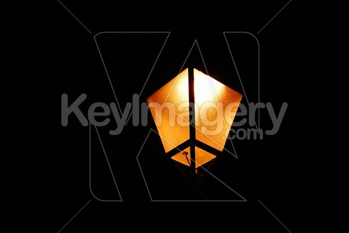 Old Orange Lamp Photo #6004