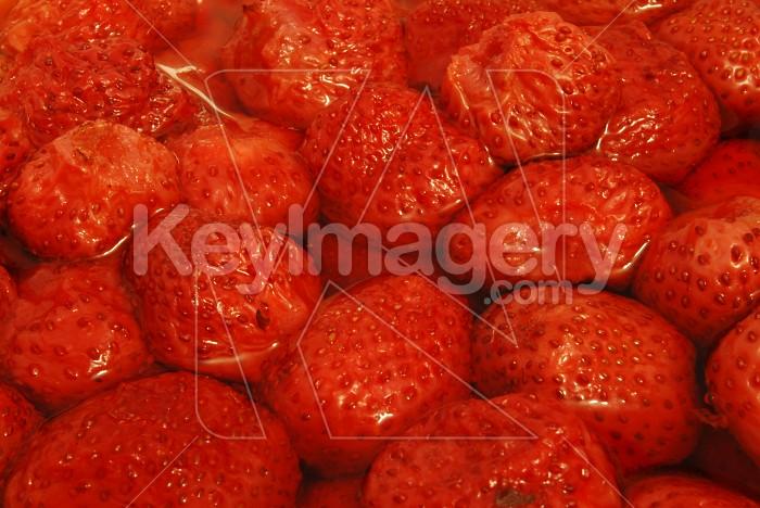 Strawberry Salat Photo #7378
