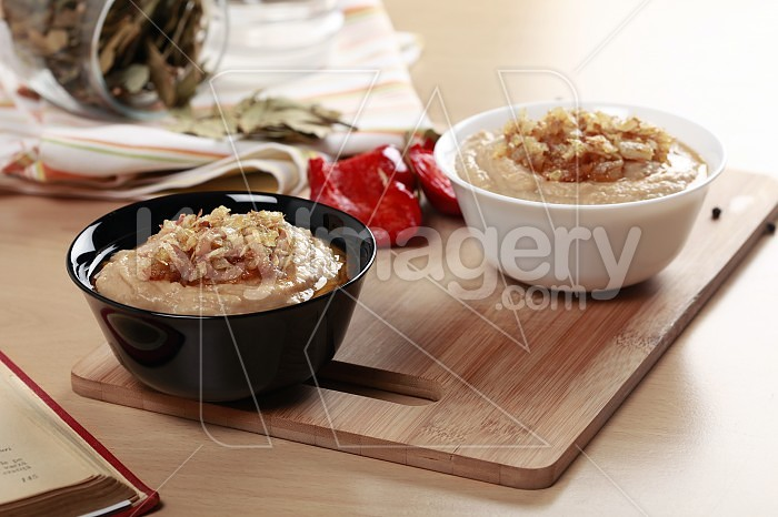 Country style mashed beans Photo #24359